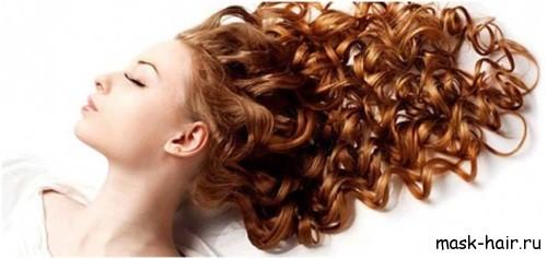 Домашние маски для вьющихся сухих волос