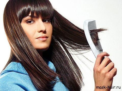 Как вылечить секущиеся концы волос