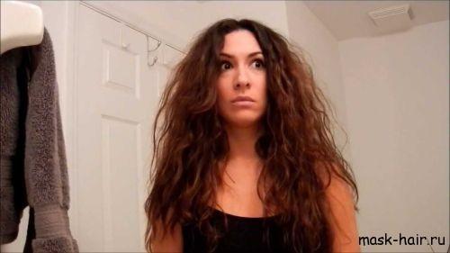 Как выровнять кудрявые волосы