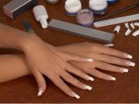 Как нарастить дома ногти на формах гелем