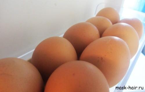 Как сделать маски для волос из яиц