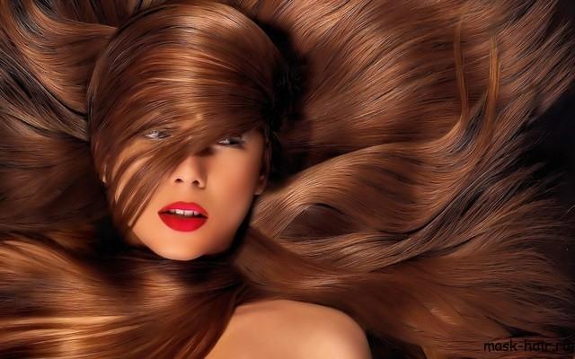 Маска для волос с касторовым маслом для жирных волос