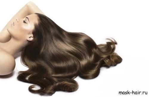 Маска для роскошного блеска волос