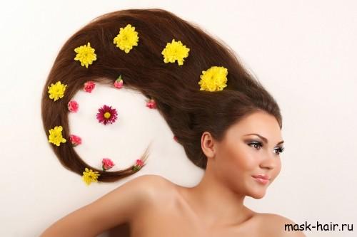 Маска для роста волос с календулой