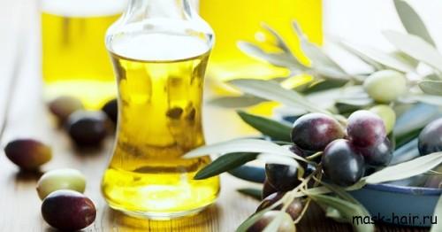 Маска с оливковым маслом, яйцом и мёдом