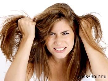 Маски для волос из шоколада для сухих и окрашенных волос