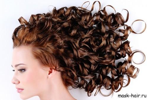 Маски для кудрявых волос