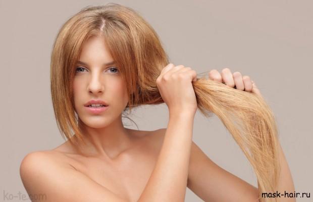 Маски для волос с маслом репейным и касторовым от выпадения волос