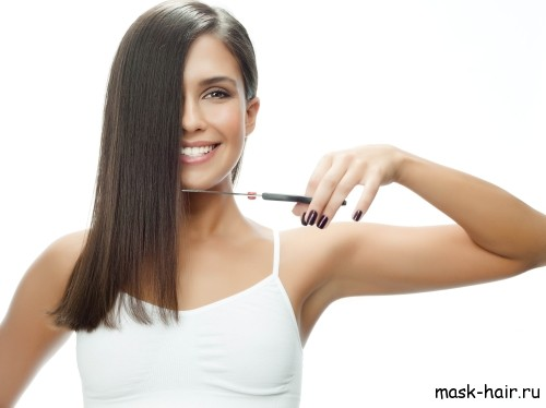 Подстригайте кончики волос