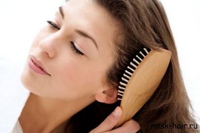 Правильное расчёсывание нарощенных волос