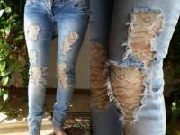 Реставрация старых джинс