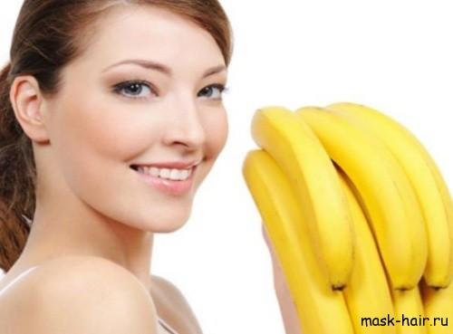 банановые маски для укрепления волос