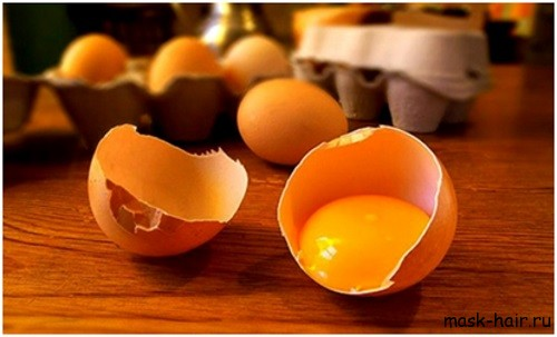 маски для волос с сахаром и яйцом
