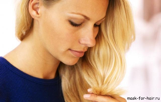 правильный уход за светлыми волосами
