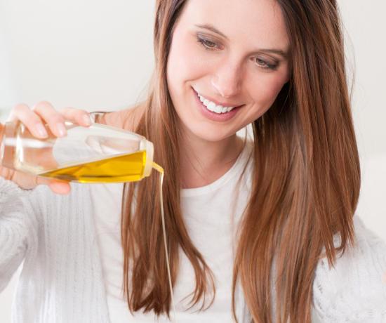 Маска с оливковым маслом для роста волос и густоты